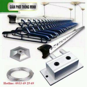 Công ty TNHH Trang trí Nội thất Hòa Phátchuyên cung cấp và lắp đặt các sản phẩm Giàn phơi thông minh.Cam kết nhập khẩu 100% sản phẩm chính hãng.  Giàn phơi nhập khẩu So2 là dòng sản phẩm trục quay Nhật Bản , sản phẩm được là từ hợp kim nhôm, cáp lụa inox 304.  Sản phẩm chắc chắn, bền đẹp/ bảo hành chính hãng dài hạn  Hotline:0933 69 25 69