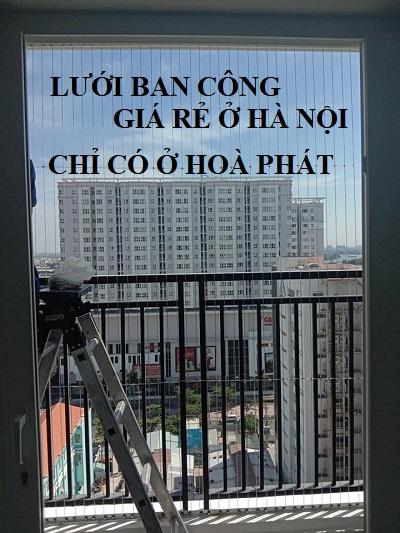 Lưới an toàn ban công giá rẻ tại Hà Nội
