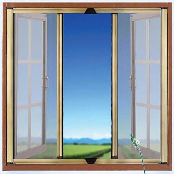 Cấu tạo của cửa chống muỗi dạng lùaCấu tạo của cửa chống muỗi dạng lùa