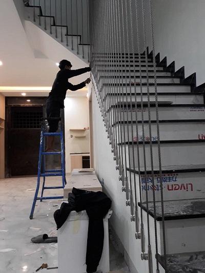 Xu hướng dùng tăng đơ cáp cầu thang
