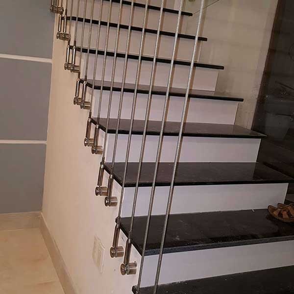 Tìm hiểu chi tiết cấu tạo cầu thang dây cáp