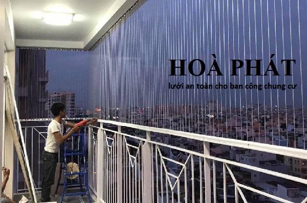 Thi công lưới an toàn ban công uy tín, chuyên nghiệp tại Hà Nội