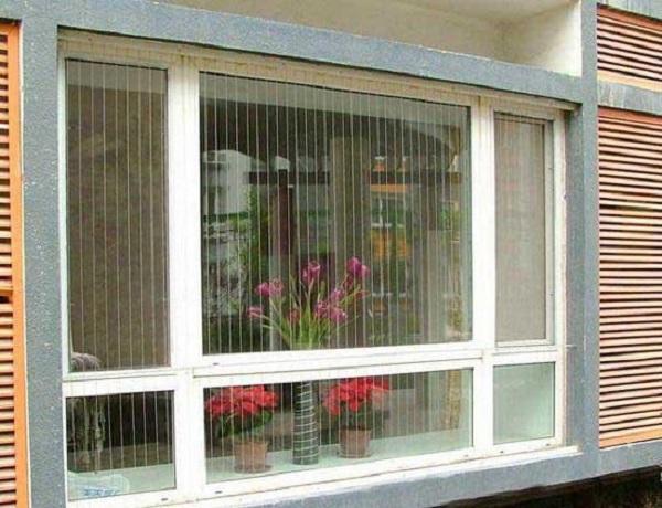 Mẫu lưới an toàn ban công cho cửa sổ đẹp, thơ mộng