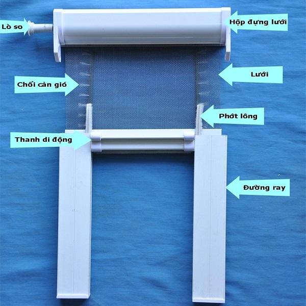 Mua các loại phụ kiện cửa lưới chống muỗi